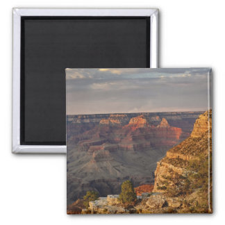 Grand Canyon from the south rim at sunset, 2 Square Magnet