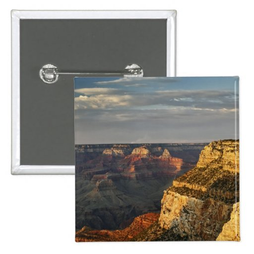 Grand Canyon from the south rim at sunset, 3 Pins
