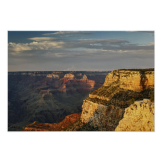 Grand Canyon from the south rim at sunset 3 Print