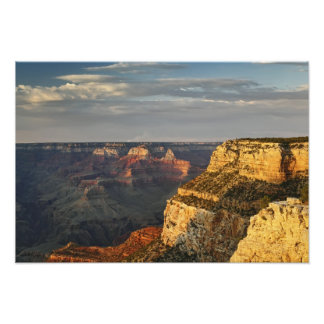 Grand Canyon from the south rim at sunset, 4 Photographic Print
