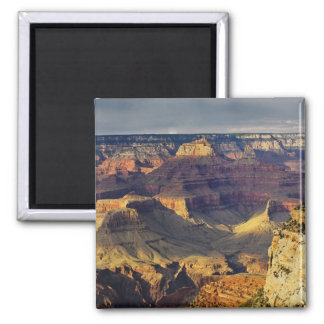 Grand Canyon from the south rim at sunset, Square Magnet
