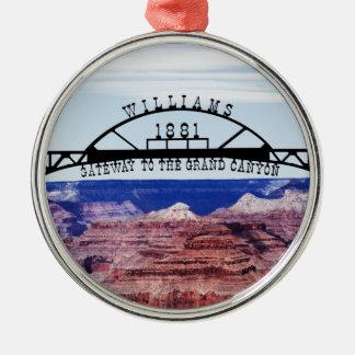 Grand Canyon Gateway Metal Ornament