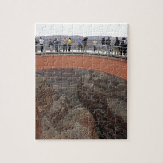 Grand Canyon Glass Skywalk Puzzle and gift box