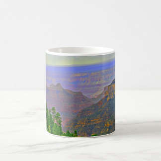 Grand Canyon In Cartoon Coffee Cup