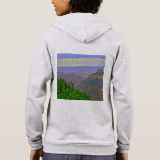 Grand Canyon in Cartoon Women's Hoodie