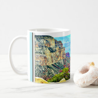 Grand Canyon in Pastel Coffee Mug