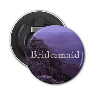 Grand Canyon in Purple Bottle Opener
