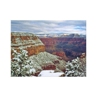 Grand Canyon in Winter Canvas Print