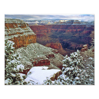 Grand Canyon in Winter Photo Print