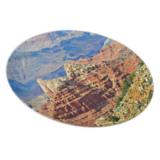Grand Canyon Landscape Melamine Plate
