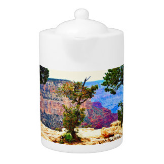 Grand Canyon Landscape Tea Pot
