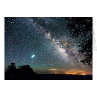 Grand Canyon Milky Way Card