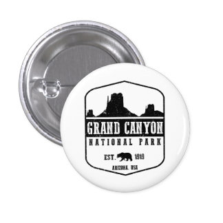 Grand Canyon National Park 3 Cm Round Badge