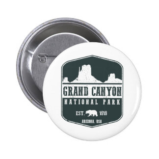 Grand Canyon National Park 6 Cm Round Badge