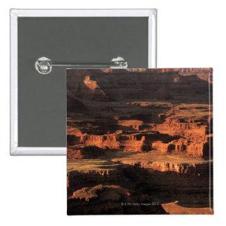 Grand Canyon National Park , Arizona 15 Cm Square Badge