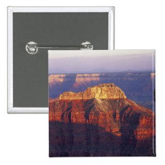 Grand Canyon National Park, Arizona, USA. 15 Cm Square Badge