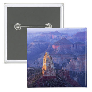 Grand Canyon National Park, Arizona, USA. View 15 Cm Square Badge
