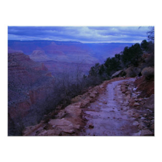 Grand Canyon National Park Bright Angel Trail Poster