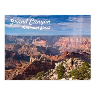 Grand Canyon National Park during a rainshower Postcard