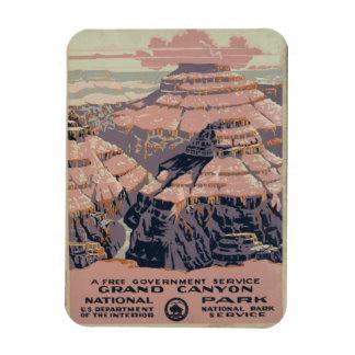 Grand Canyon National Park Rectangular Photo Magnet