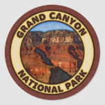 Grand Canyon National Park Round Sticker