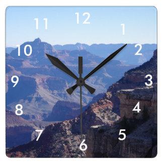 Grand Canyon National Park, South Rim Square Wall Clock