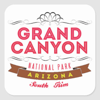 Grand Canyon national park Square Sticker