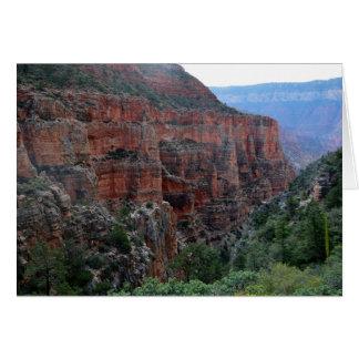 Grand Canyon North Kaibab Trail Note Card