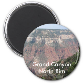 Grand Canyon North Rim 6 Cm Round Magnet