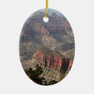 Grand Canyon North Rim, Arizona, USA 2 Christmas Tree Ornament