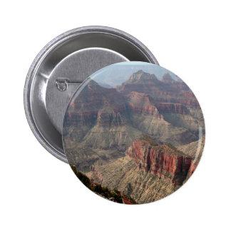 Grand Canyon North Rim, Arizona, USA 6 6 Cm Round Badge