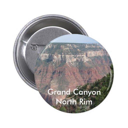 Grand Canyon North Rim Pinback Buttons