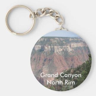 Grand Canyon North Rim Basic Round Button Key Ring