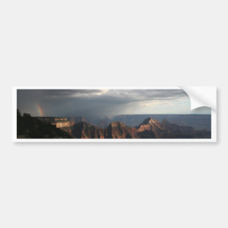 Grand Canyon North Rim Rainbow Bumper Stickers