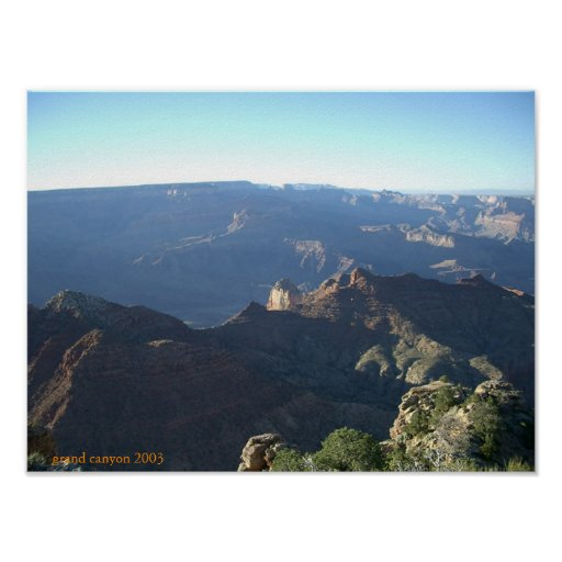 Grand canyon northern rim posters