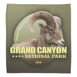 Grand Canyon NP (Bighorn) WT Bandana
