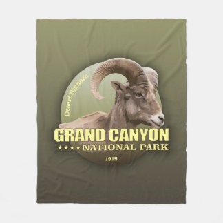 Grand Canyon NP (Bighorn) WT Fleece Blanket