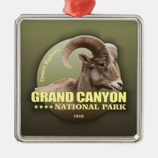 Grand Canyon NP (Bighorn) WT Metal Ornament
