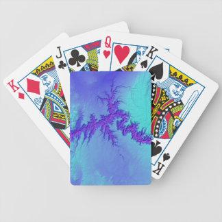 Grand Canyon of Arizona- Bright Nebula Style Bicycle Playing Cards