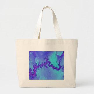 Grand Canyon of Arizona- Bright Nebula Style Large Tote Bag