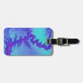 Grand Canyon of Arizona- Bright Nebula Style Luggage Tag