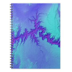 Grand Canyon of Arizona- Bright Nebula Style Notebook
