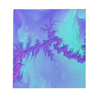 Grand Canyon of Arizona- Bright Nebula Style Notepad