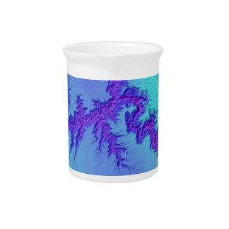 Grand Canyon of Arizona- Bright Nebula Style Pitcher
