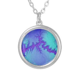 Grand Canyon of Arizona- Bright Nebula Style Silver Plated Necklace