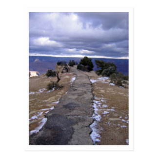 Grand Canyon Path Postcard