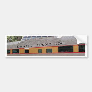 Grand Canyon Railway carriage, Arizona Bumper Sticker
