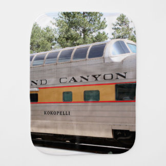 Grand Canyon Railway carriage, Arizona Burp Cloth