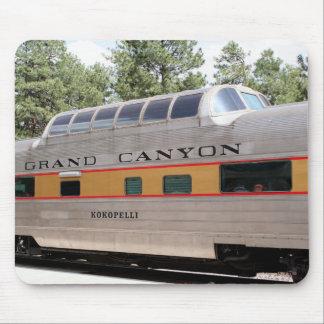 Grand Canyon Railway carriage, Arizona Mouse Pad