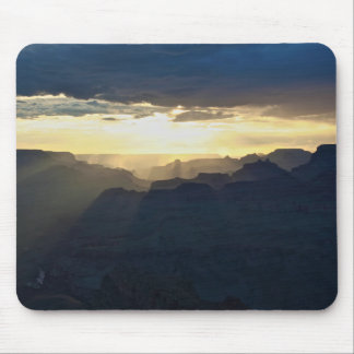 Grand Canyon Rainstorm Mouse Pad